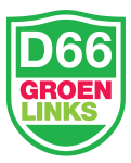 D'66 Groen Links logo